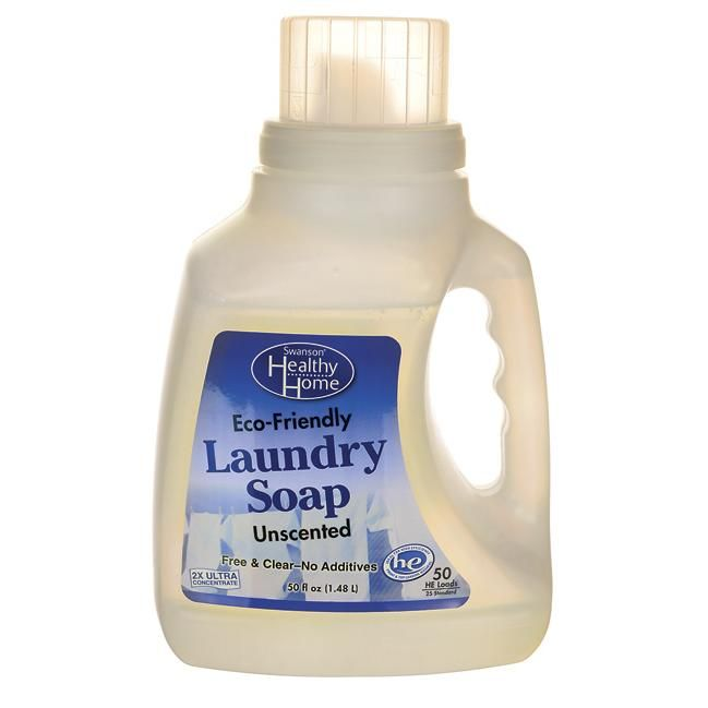 Swanson Healthy Home Laundry Detergent Eco Friendly Unscented