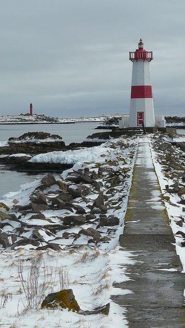 Phare de la Pointe aux Canons, à Saint-Pierre et Miquelon