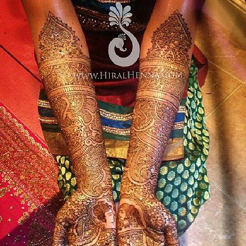 @nagi1410 's #bridal #mehndi from a few months ago with #d… | Flickr