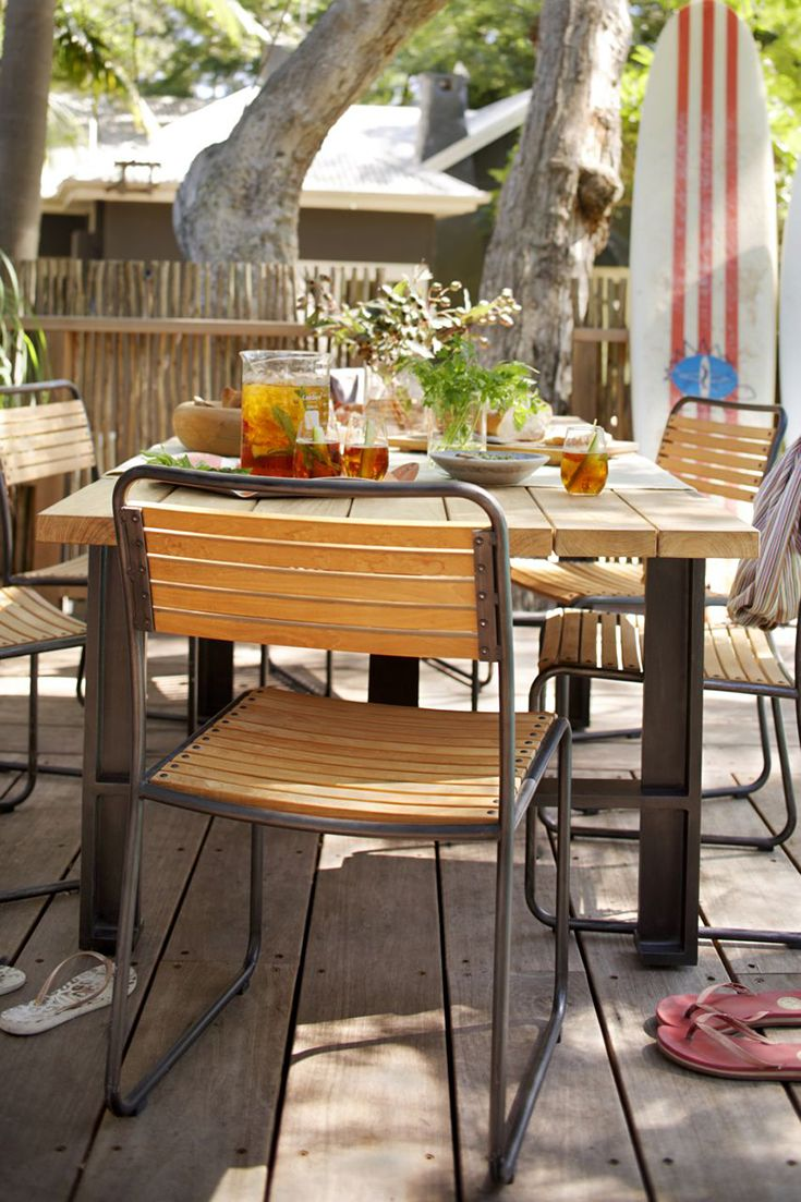 Turon Industrial Style Metal Dining Chairs