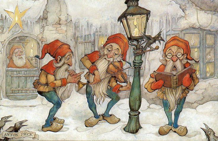Zingende Kabouters (Anton Pieck)