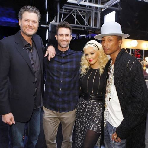 Christina Aguilera, Adam Levine Poke Fun At Blake Shelton, Gwen Stefani Romance On 'The Voice' - http://www.movienewsguide.com/christina-aguilera-adam-levine-poke-fun-blake-shelton-gwen-stefani-romance-the-voice/163346