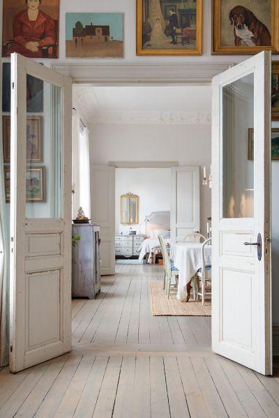 floors #internal french doors