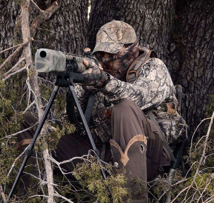 Suppressed Turkey Hunt http://riflescopescenter.com
