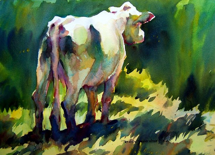 Watercolor Paintings of Animals | watercolor animals - group picture, image by tag - keywordpictures.com