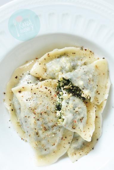 Zdjęcie: Pierogi z serem i jarmużem