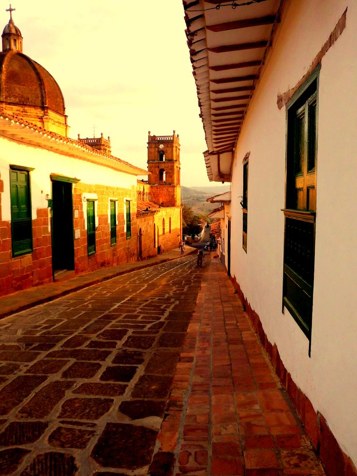 Barichara, Colombia.