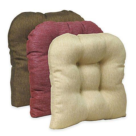 klear vu universal embrace gripper chair pad in blue chair pads rh pinterest com