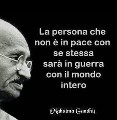 .la persona che non è in #pace..... the #person who is not in #peace ....
