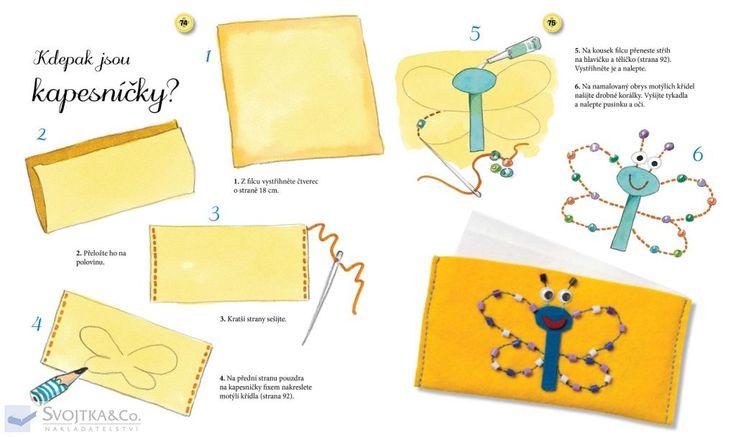 Nakladatelství Svojtka & Co. - Super snadné ruční šití pro děti #siti #diy #vlastnivyroba #obleceni #strihy #svojtka #kniha #prodeti