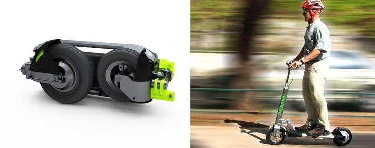 Scooter Elétrica Portátil