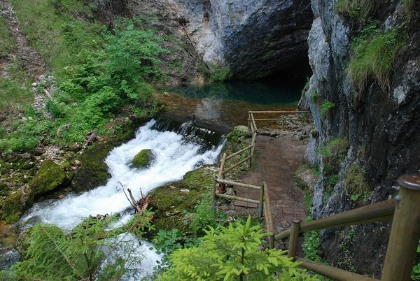 Piessling Ursprung, Pyhrn Priel Urlaubsregion, Oberösterreich, Austria