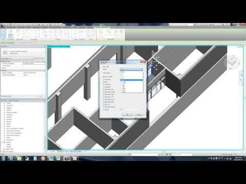 Revit tips make curtain wall to assembly youtube for Curtain creator software
