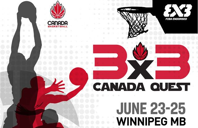 Canada Quest 3x3 Basketball Tournament Coming to Winnipeg June 23-25 2017   THE CANADA QUEST TOUR is coming to Winnipeg. Dont miss your chance to be a part of history and show the world youve got game! THE 3x3 CANADA QUEST TOUR is the nations premier grassroots 3x3 basketball tour and is open to males and females ages 8 and up. All skill levels from recreational to competitive are welcome to play this fast-paced and skillful game! The best ballers north of the border will be in action when…
