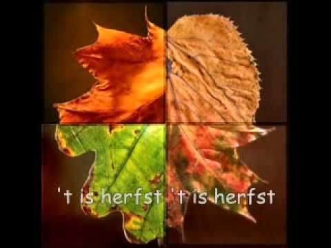Liedje t Is herfst - YouTube