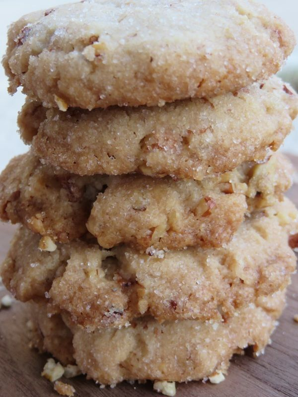 Butter Pecan Cookies. A buttery, toasted pecan flavor.