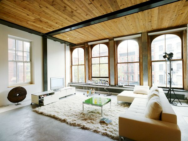 USM Modular Furniture | usm.com | Converted Warehouse | Windows | Functional Furniture | Minimalist | Vintage Industrial Furniture | Get The Look | Trend 2015 | Warehouse Home Design Magazine