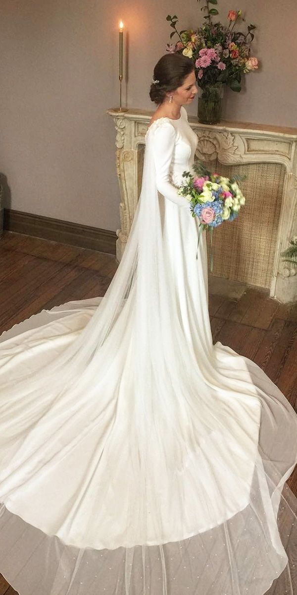 15 vintage wedding dresses with sleeves you'll love ❤ vintage wedding dresses … #ar …