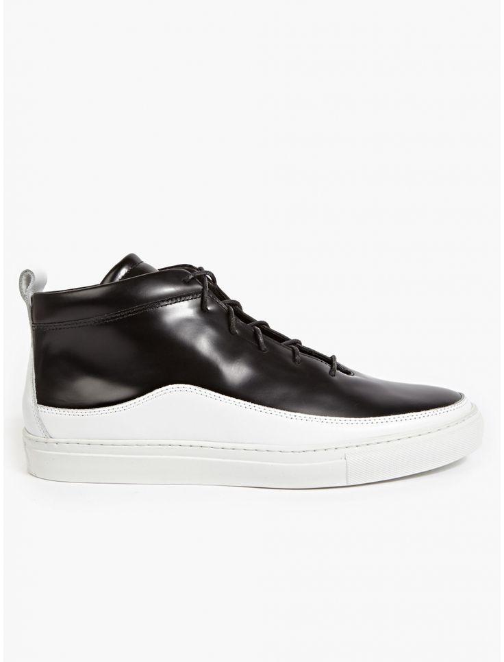 Public School Men's Black Braeburn Hi-Top Sneakers | oki-ni