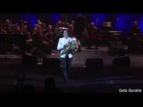 Gela Guralia / Гела Гуралиа / გელა გურალია - Концерт с оркестром. С-Петербург 01.03.2015 - YouTube