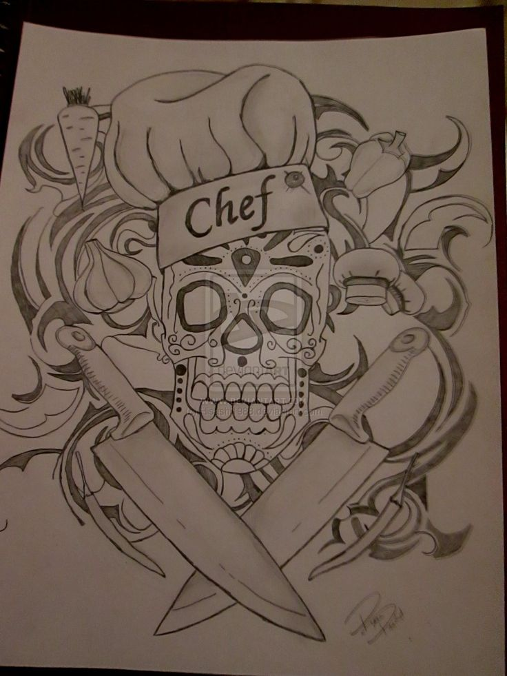 chefs tattoos - Google Search                              …