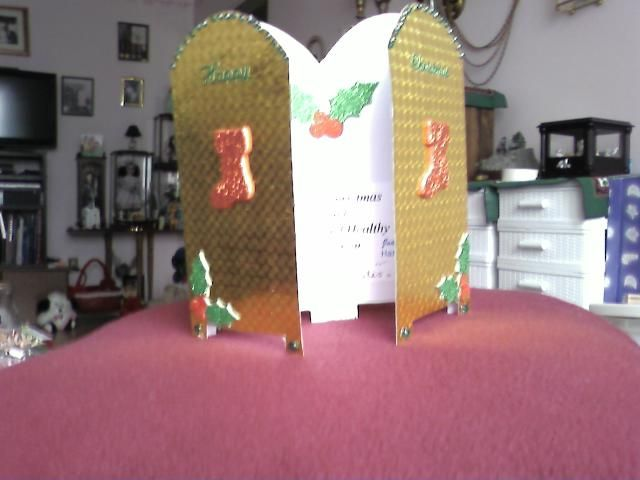 Hand made Christmas card by Joan Fenech