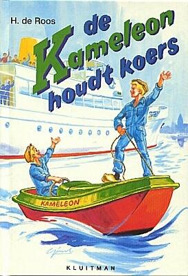 De Kameleon houdt koers (nr. 6 - 1958) Geschreven door Hotze de Roos Illustraties: Gerard van Straaten