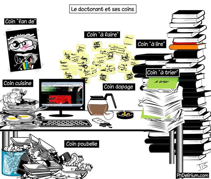 Le doctorant et ses coins - PhDelirium | PhDelirium