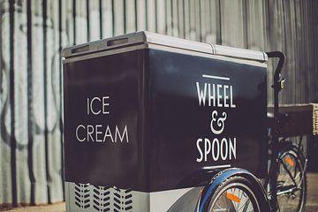 the wheel and spoon ice cream bike