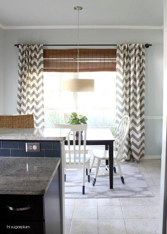 Best ideas about grey chevron curtains on pinterest