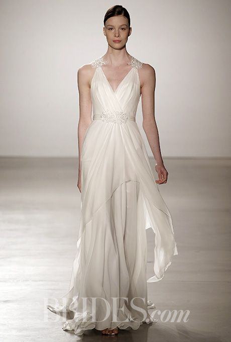 Brides: Christos Wedding Dresses - Spring 2016 - Bridal Runway Shows - Brides.com