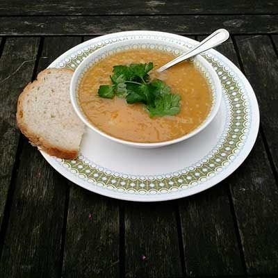 Easy roasted vegetable soup recipe - Easy soup recipes - Food and UK recipes - allaboutyou.com