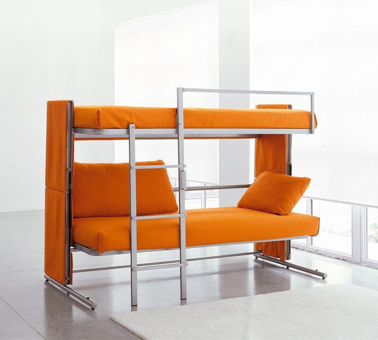 Oltre 25 fantastiche idee su divano letto a castello su - Divano che diventa letto a castello ...