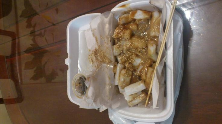 HK styled rice rolls. Yummy!