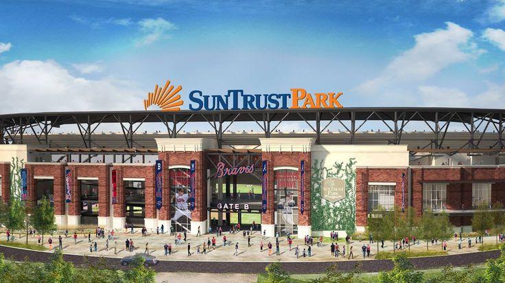 09/2014: First look at the Atlanta Braves new stadium - SunTrust Park.