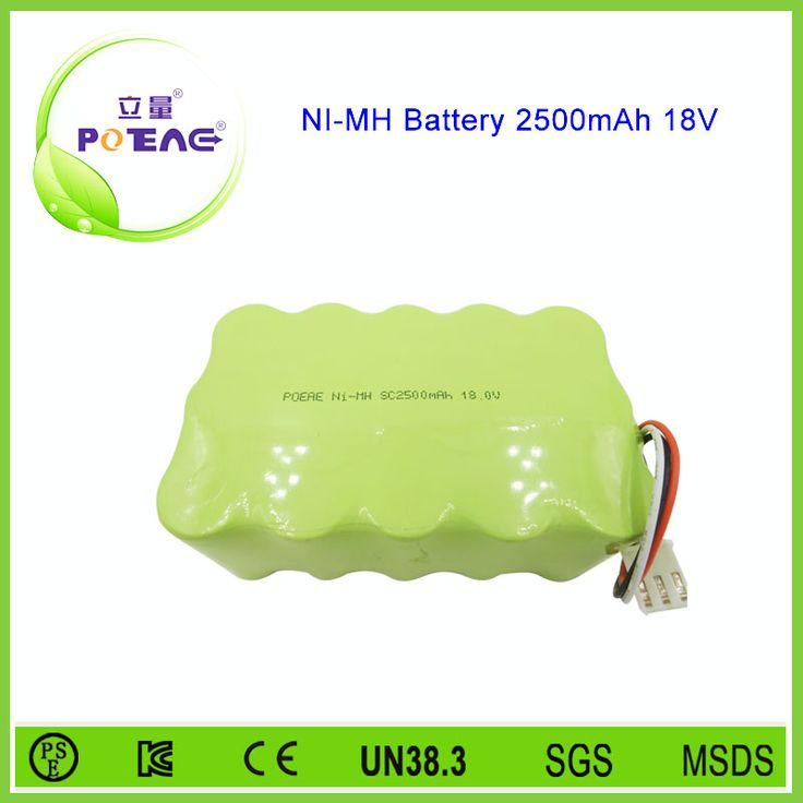 Lawn mower rechargeable sc 2500mah ni-mh battery pack 18v