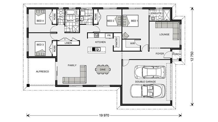 Woodridge 216 EXPRESS, Home Designs in Brisbane North & Bayside   G.J. Gardner Homes