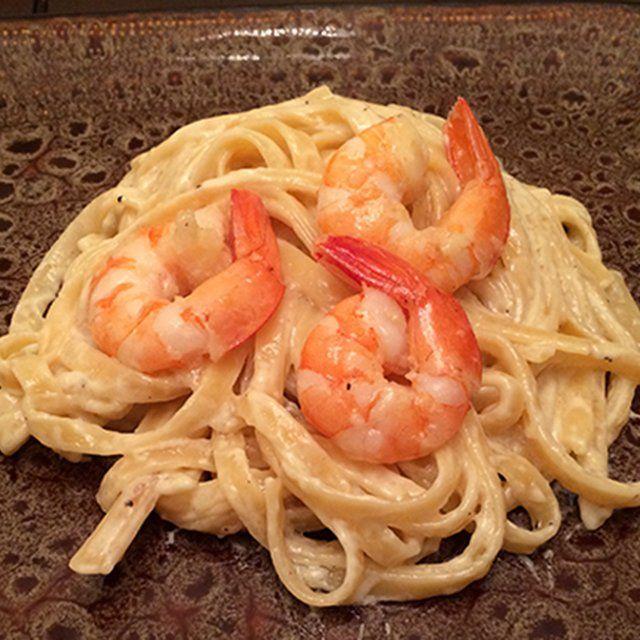 how to cook shrimp fettuccine