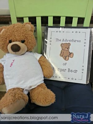 Using a Prayer Bear in the Classroom Do you teach in a religious school? Or maybe lead Sunday school or a religious education classroom each week? I have a fun freebie for you! I use Prayer Bear in my Catholic religious formation class each week with my first graders. Each week a new student takes Prayer Bear home and gets to spend time praying with him. A binder travels with him that includes prayer prompts and a week at a glance of what they did with Prayer Bear each day. I have all the…