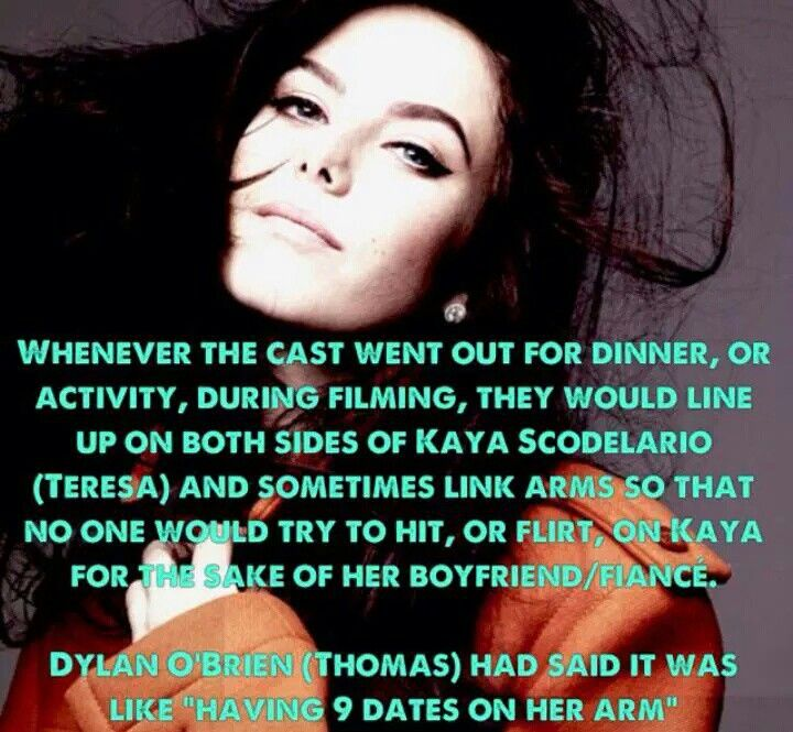 One of many reasons to love the Maze Runner Cast