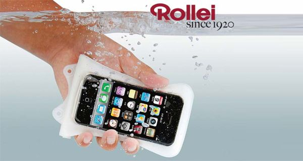 Qui!Coupon-Custodia impermeabile Iphone Rollei Wp I 20-9,90 € anziché 19,90 € #custodia  #iphone