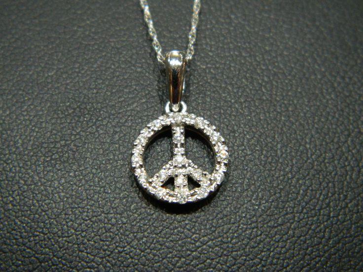 Diamond Peace Sign