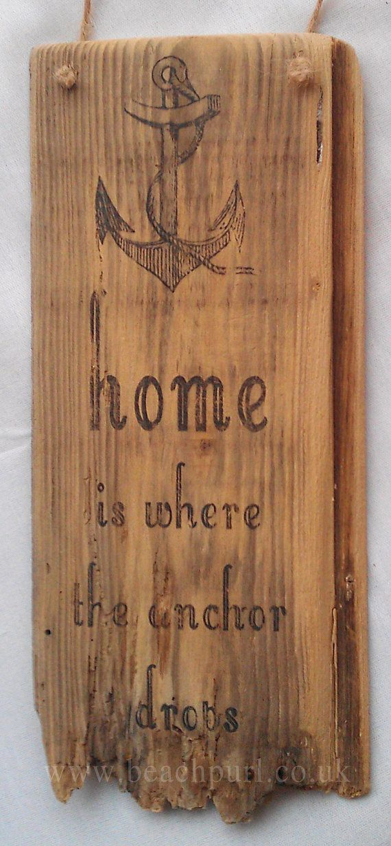~Home is where the anchor drops~