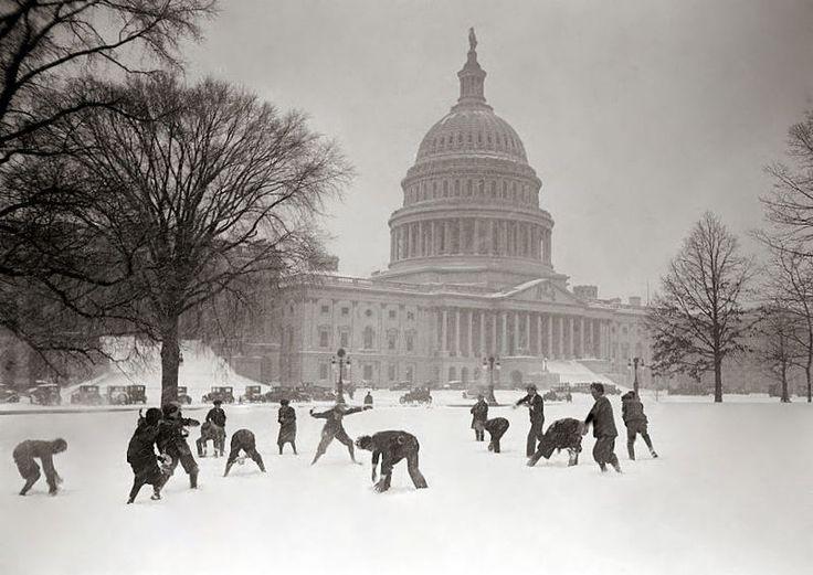 One of my favorite memories... DC in snow.