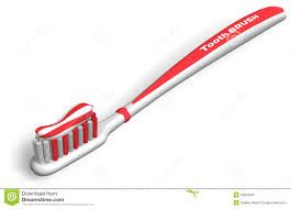 Today i have bought a new toothbrush and u brushed my teeth with it