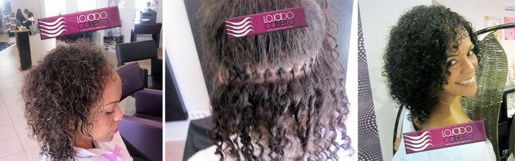 Loja do Cabelo   Publicado por Cláudia Botelho · 25/4.    Quem disse que #extensões são só para conseguir #cabelo comprido?    Aplicação com nó italiano, Cabelo Indiano Cacho B, 30-35 cms, 200 gramas.   Só podia ser da Loja do Cabelo... O melhor cabelo, os melhores resultados!  #beleza #hair #beauty #hairextensions #lindo #lojadocabelo