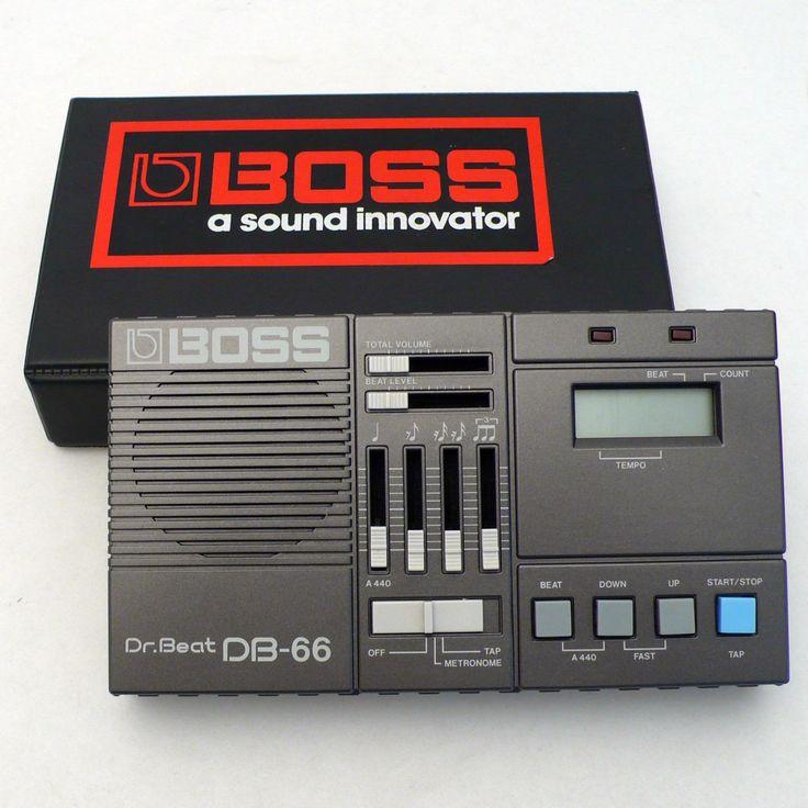 BOSS Dr.Beat DB-66 Metronom - cyan74.com vintage and pop culture