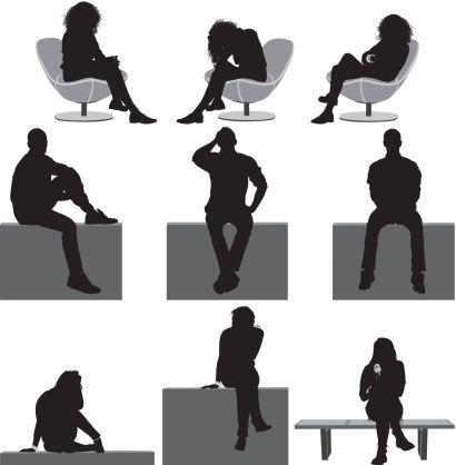 People sitting