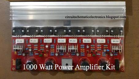 1000 vatios Amplificador de Potencia