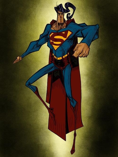 Superman by Lorenzo Bambino